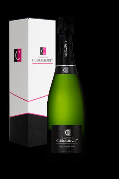 Champagne Clerambault Carte Noire Brut