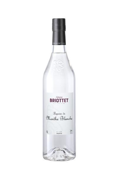 Briottet liqueur de Menthe Blanche