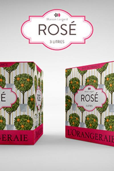 L'orangeraie Rosé Bib 3 litres